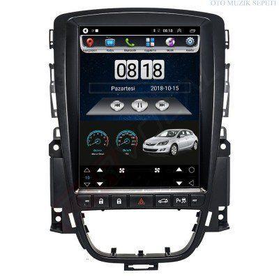 Opel Astra J Araçlara Tesla Android Multimedia Navigasyon 2+32 GB