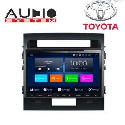 Toyota Land Cruiser Araçlara Android Multimedia Navigasyon