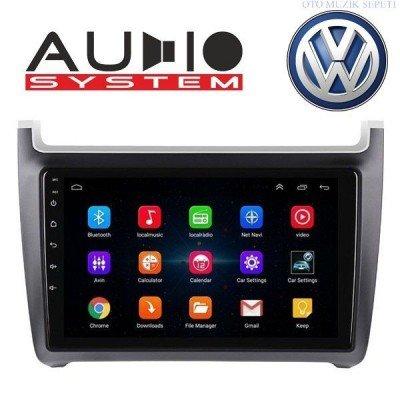 Volkswagen Polo 2012 2013 Araçlara Android Multimedia Navigasyon 4+64 Gb