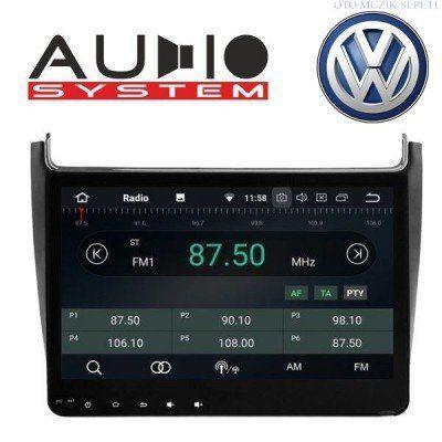Volkswagen Polo 2014 2017 Araçlara Android Multimedia Navigasyon